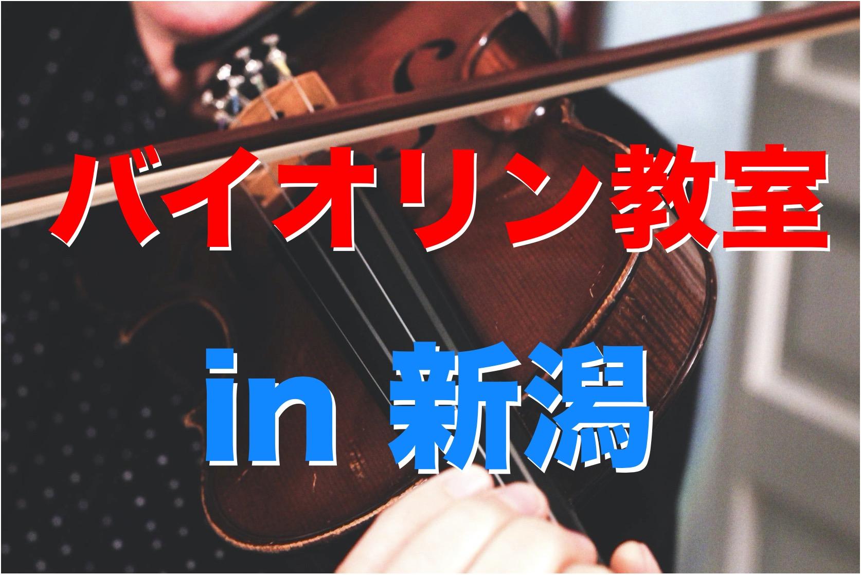 バイオリン 新潟